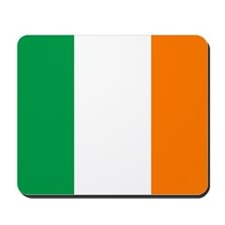 Irish flag of Ireland Mousepad