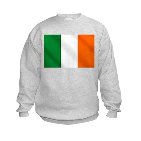 Irish flag of Ireland Kids Sweatshirt