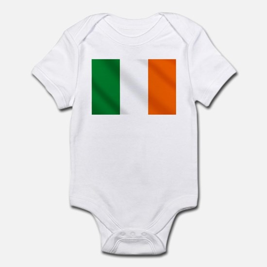 Irish flag of Ireland Infant Bodysuit
