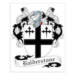 Balderstone Family Crest Small Poster