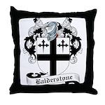 Balderstone Family Crest Throw Pillow