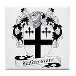 Balderstone Family Crest Tile Coaster