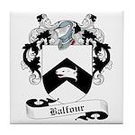 Balfour Family Crest Tile Coaster