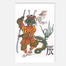 Year of the Dragon Postcards (Package of 8)