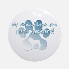 Leonberger Grandchildren Ornament (Round)