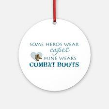 Mine wears Ornament (Round)