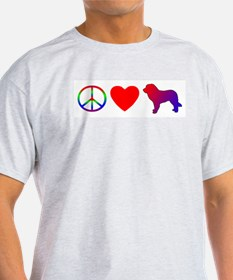 Peace Love Leonberger T-Shirt