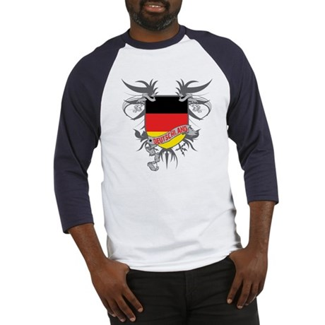 Deutschland Winged Baseball Jersey