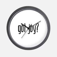 Got Joy? Wall Clock