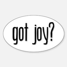 Got Joy? Oval Decal