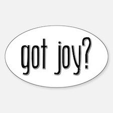 Got Joy? Oval Decal
