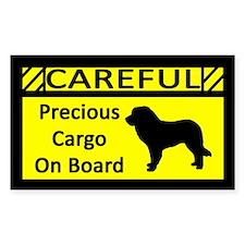 Precious Cargo Leonberger Sticker (Rect)