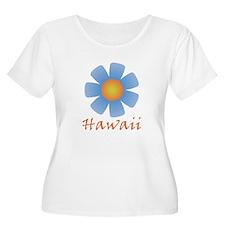 Hawaii (Blue Flower) T-Shirt