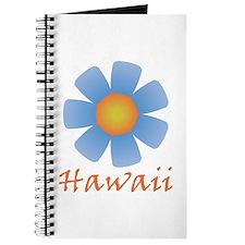Hawaii (Blue Flower) Journal