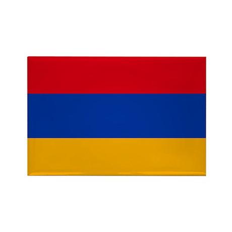 Flag of Armenia Rectangle Magnet