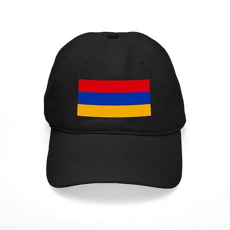 Flag of Armenia Black Cap