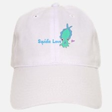 Squidie Love Baseball Baseball Cap