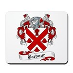 Barbour Family Crest Mousepad