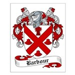 Barbour Family Crest Small Poster