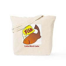 240 Fish Thinking Tote Bag