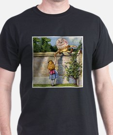 Alice Meets Humpty Dumpty SQ T-Shirt