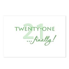 21 ... finally Postcards (Package of 8)