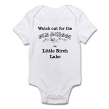 424 Watch Out for Old School Infant Bodysuit