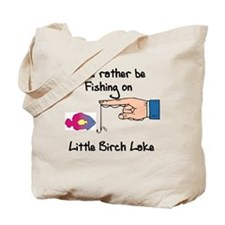 434 I'd Rather be Fishing Tote Bag