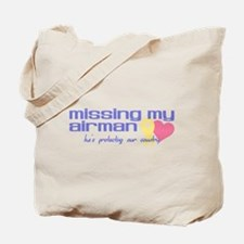 Missing My Airman Tote Bag