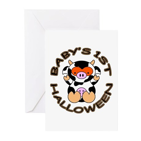 Baby's 1st Halloween Greeting Cards (Pk of 10)