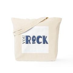 You Rock (blue) Tote Bag