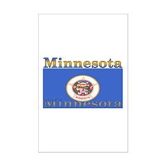 Minnesota State Flag Posters