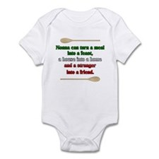 Nonna Can Turn A Meal Infant Bodysuit
