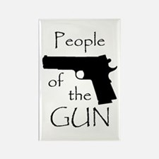 People of the Gun (1911) Rectangle Magnet