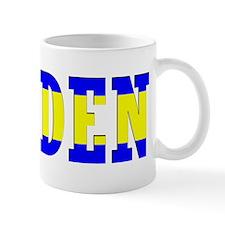 Sweden Flag (Word) Mug