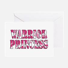 Warrior Princess Greeting Card
