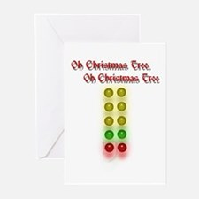Drag Race Christmas Tree Greeting Cards (Pk of 20)