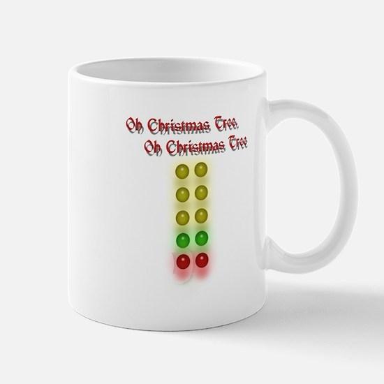 Drag Race Christmas Tree Mug