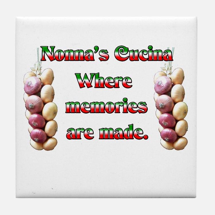 Nonno Nonna Coasters Cork Puzzle Tile Coasters