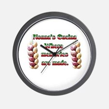 Nonna's (Italian Grandmother) Cucina Wall Clock
