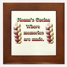 Nonna's (Italian Grandmother) Cucina Framed Tile