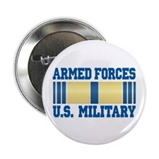 "Armed Forces Service Ribbon 2.25"" Button"