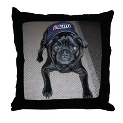 Dogs for Obama Throw Pillow