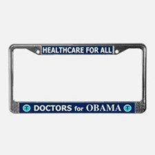 DOCTORS FOR OBAMA License Plate Frame