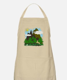 Mountains & Forest - BBQ Apron