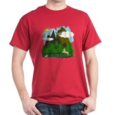 Mountains & Forest - T-Shirt