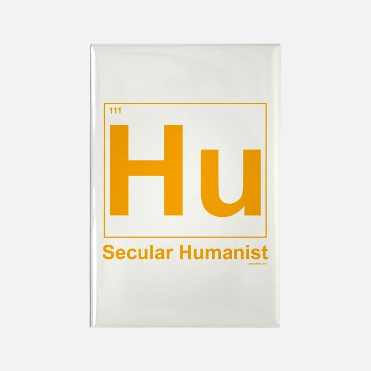 Secular Humanist Rectangle Magnet