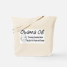 Obama Grandma Under The Bus Tote Bag