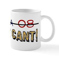 Obama 08 No We Cant Mug