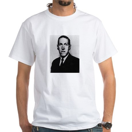 H.P. Lovecraft White T-Shirt